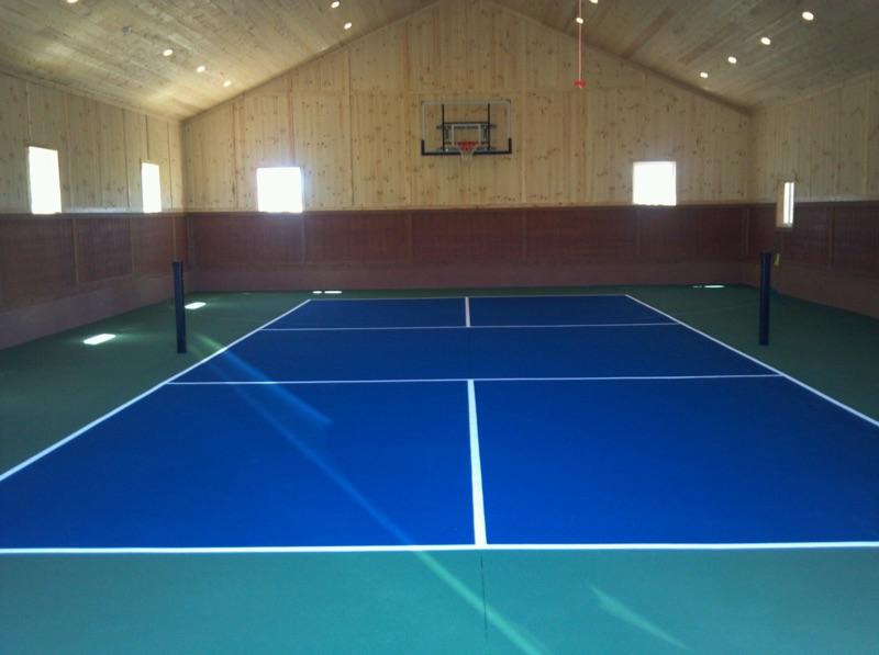 Futsal Soccer Court Construction | Utah | Parkin Tennis Courts